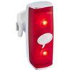 Knog POP r Sicherheitslampe rote LED white